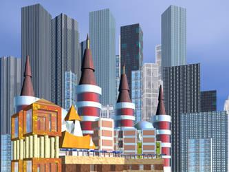 Cityscape by archizero