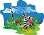 Lemurs by archizero