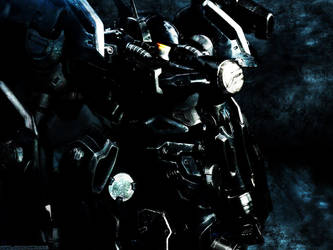 Armored Core wallpaper by JaapvdV