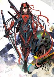 Armored Oni Samurai by ALF874
