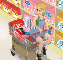 Shopping for Sammy by The-Padded-Room
