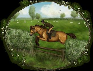 Harpley Hunt - Easter Meet by ElreniaGreenleaf