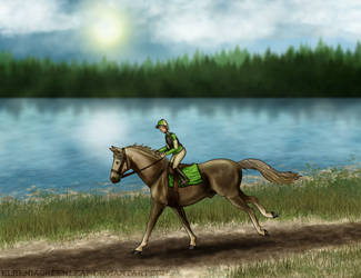 Harper Flat Racing by ElreniaGreenleaf