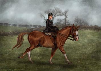 Kerrygold - Harpley Hunt 2016 by ElreniaGreenleaf