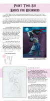 Paint Tool Sai: BB's Basics for Beginners (Pt. 01) by bayobayo