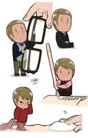 Tiny!Hannibal Lecter by bayobayo