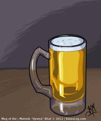 Mug of Ale by Vyoma