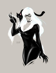 Black Cat by jaisamp