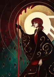 Blood spilt by spectre-draws