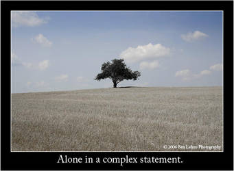 Alone in a complex statement. by uselesslove