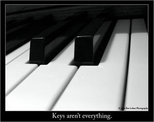 Keys aren't everything. by uselesslove