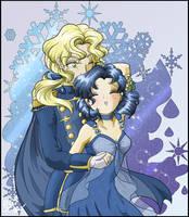 Princess Mercury and Zoicite by SMeadows