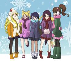 Snowflake Senshi by SMeadows