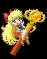 Sailor Venus Wand by SMeadows