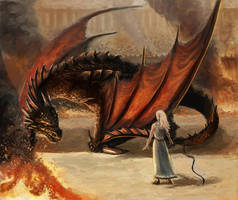 Daenerys and Drogon by Afternoon63