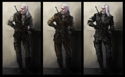 Witcher's armors concept by Afternoon63
