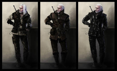 Witcher's armors concept 2 by Afternoon63