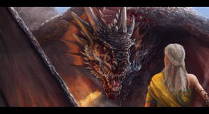 Daenerys and Drogon v2 by Afternoon63