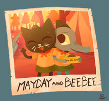 MAYDAY AND BEEBEE-NITW by Reapers969