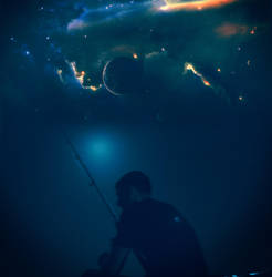 galactic fishing :) by Gran2rismo