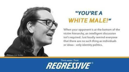 Regressive Identity Politics by paradigm-shifting