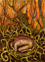 Womb of the Earth - color by zyphryus