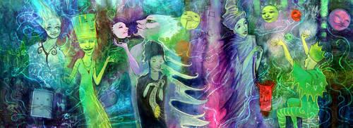 Twilight Revelers -on Lightbox by zyphryus