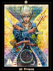 Tarot - The Magician by zyphryus