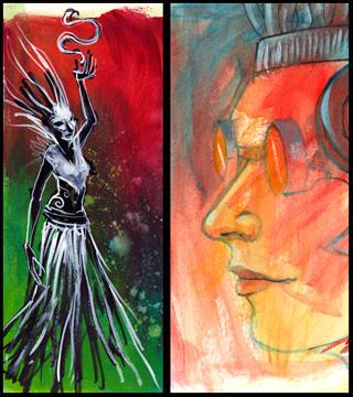Magic Vs Alchemy by zyphryus