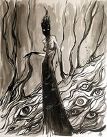The Shadow Maiden by zyphryus