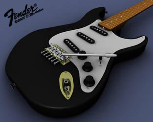 Fender Stratocaster by mcarthur17