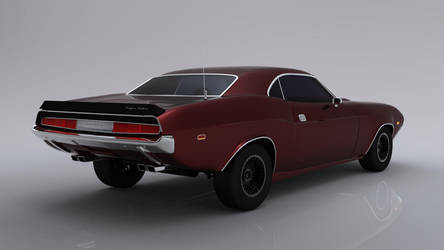 Muscle Car v2, new render by mcarthur17