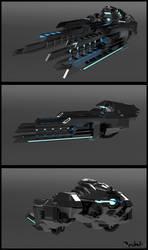 Spaceship design by llRobinll