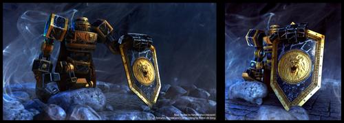 Robot Knight by llRobinll