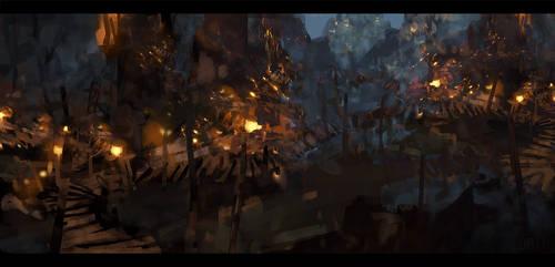 goblin cave by llRobinll