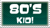 80's Kid -STAMP- by DarthTella