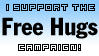 Free Hugs Campaign stamp by Shantella