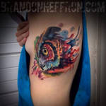 Owl Tattoo by xxnefariousxx