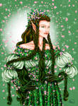 Lady of the Woods by Yagellonica