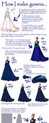 Gown Tutorial by Yagellonica