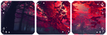 Red leaves l Divider by SileentDo