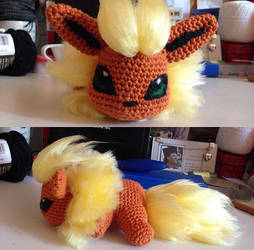 Flareon by TheMysticalMenagerie