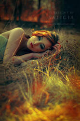 burning thoughts by JuliaDunin