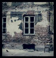 empty window by JuliaDunin