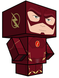 Flash Season One Cubeecraft by JagaMen