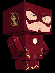 Flash Season Two Cubeecraft by JagaMen