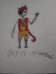 Monstober - Day 19 Animatronic by InfiniteComet310