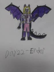 Monstober - Day 22 Ender by InfiniteComet310