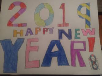 Happy New Year! by InfiniteComet310