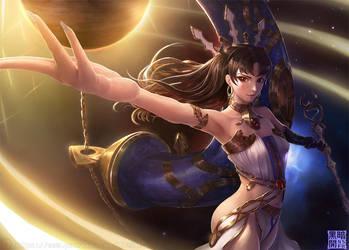 Ishtar (Fate/Grand order) by Limdog